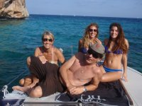 Familia en el barco