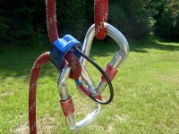 tirolina不同的电路用铁锁拉链线
