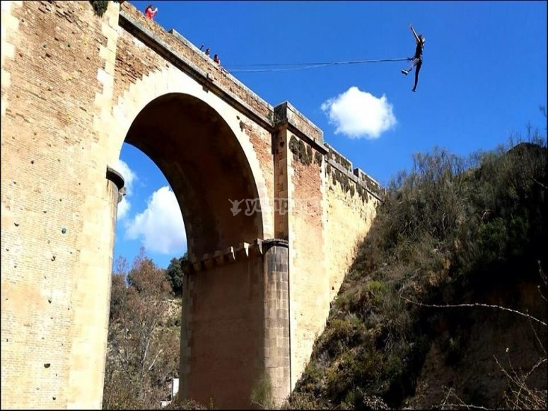 Bungee jumping experience