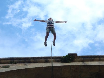 Bungee jumping a Ronda con il video Go Pro