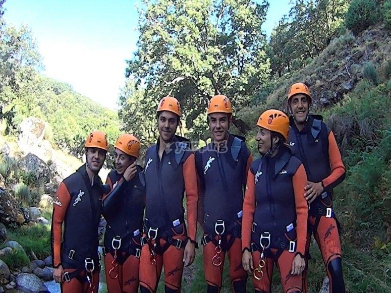Canyoning dans les gorges du Tietar