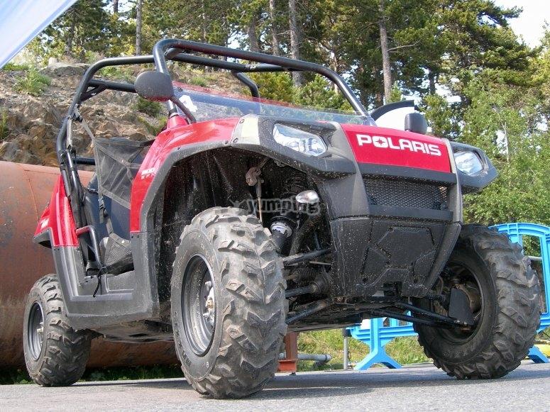 Small all-terrain vehicle