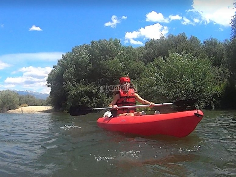 One-man kayak