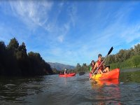 Descenso kayaks río Tiétar 2 horas con foto