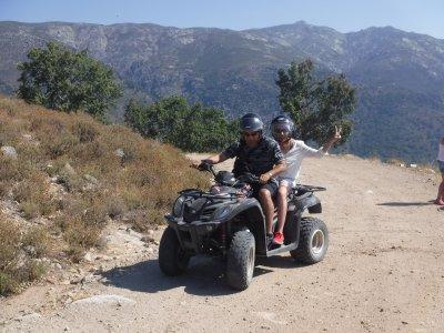 Quad route Cáceres 60 minutes with photos