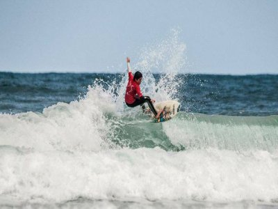 Surf camping, Gijón, 7 days, full board