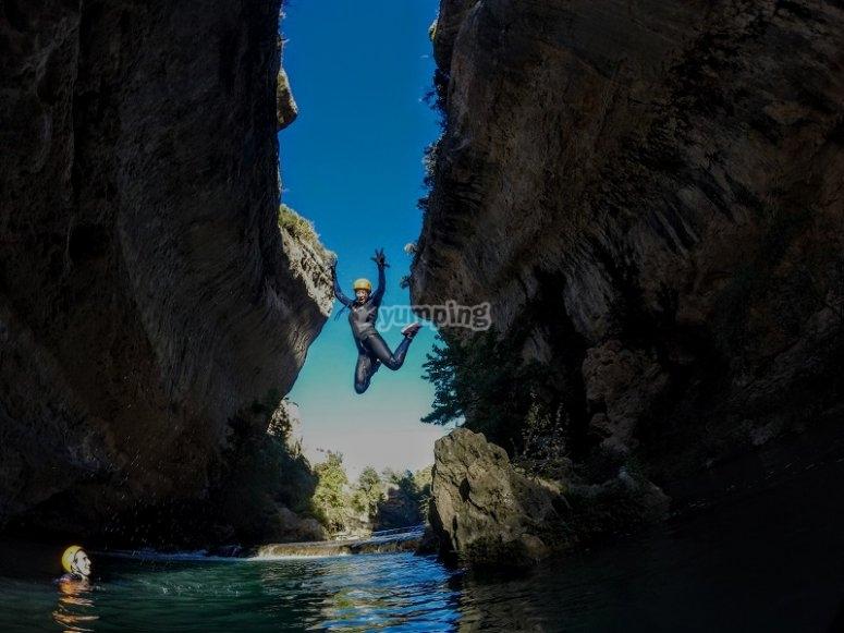 Soltando adrenalina