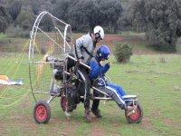 The paramotor trike
