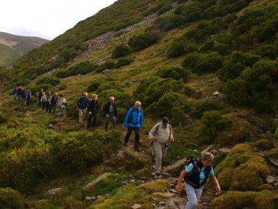 Hiking tour in Sierra de la Demanda