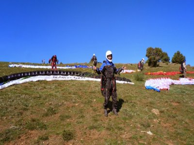 Induction classes in paragliding