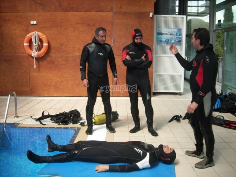 clase buceo