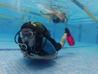 Diving course about dry suit in Madrid