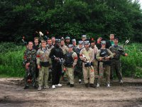 Groups of paintball