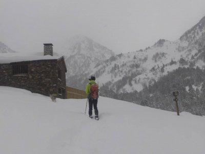 Andorra passeggiata con le ciaspole