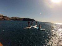 Aprendiendo a remar en aguas tranquilas