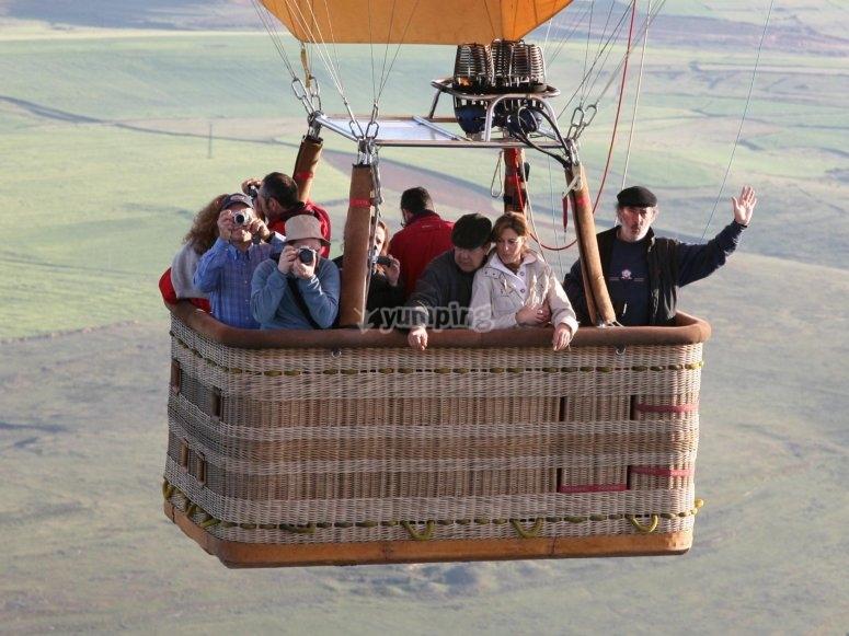 塞戈维亚塞戈维亚乘坐热气球