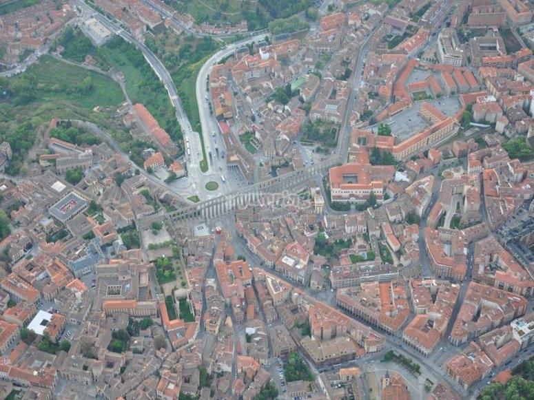 Panoramic of Segovia