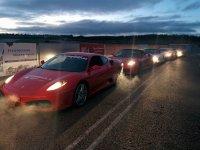 Ferrari en carretera