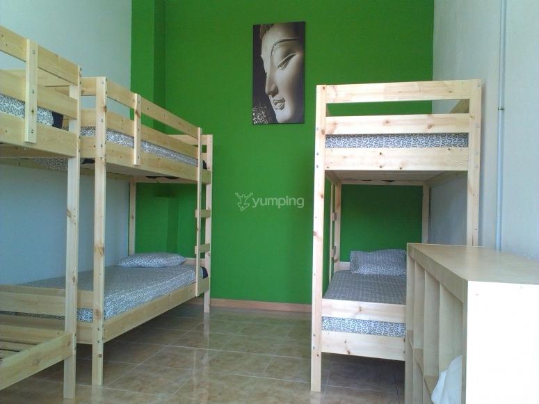 Habitación del alojamiento Hostel Dive Alive