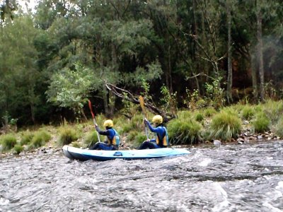 Journey Kayaking in River Ulla + pics