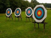 Dianas para practicar tiro con arco en  Leioa