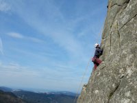 Curso de iniciación a la escalada en roca Coruña
