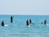 高级流水上冲浪桨式流量GRUPAL