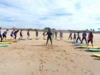 埃尔帕尔马的冲浪课程