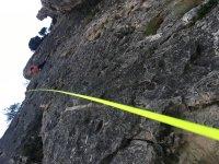 Bautismo de escalada en Getxo
