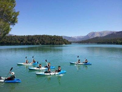 Alquiler de Piragua y Paddle Surf en Cazorla
