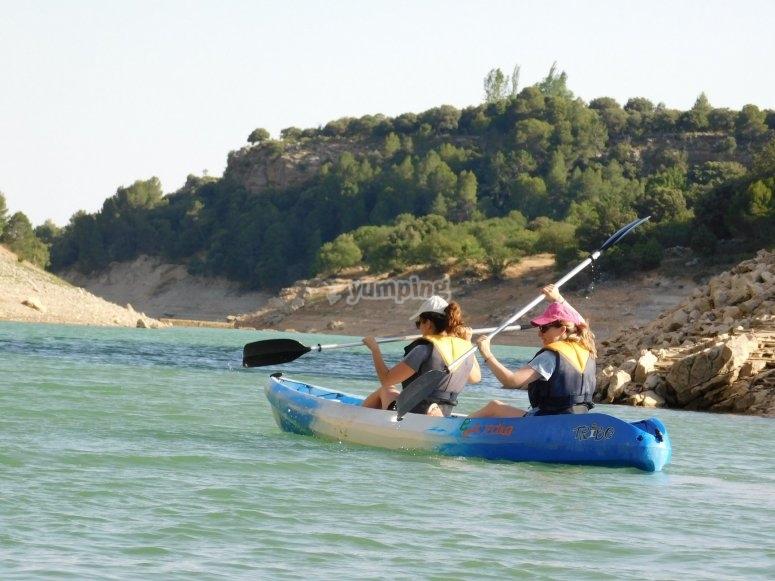 独木舟组--999-独木舟在令人难以置信的地方骑行