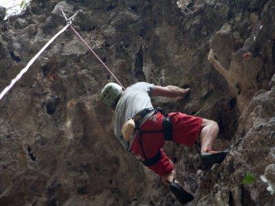 Curso de escalada en Pozo Alcón especial parejas