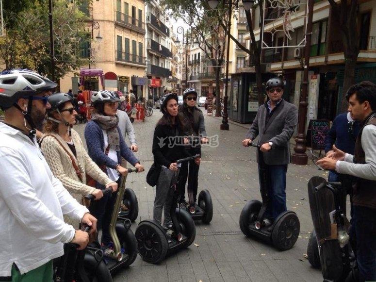 Sevilla en segway