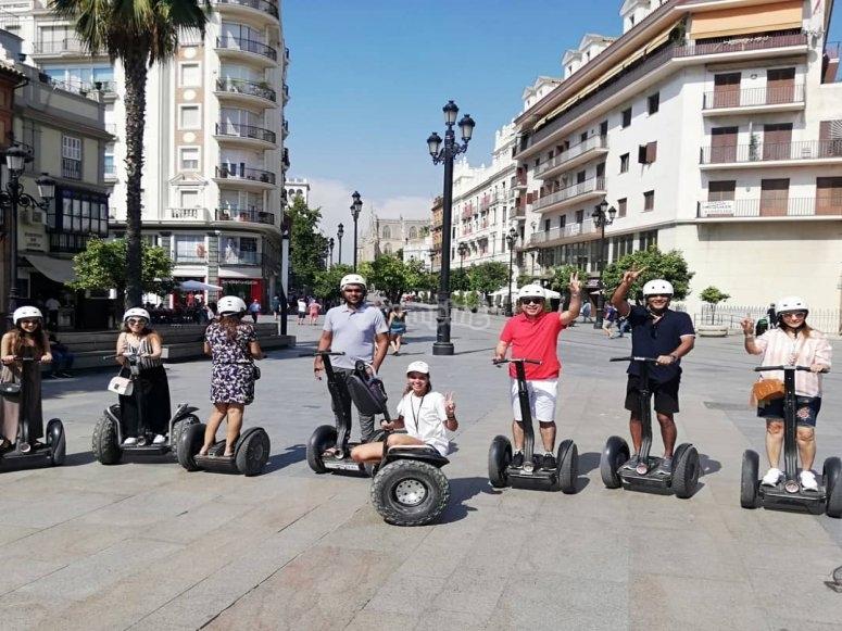 Excursión familiar en segway por Sevilla