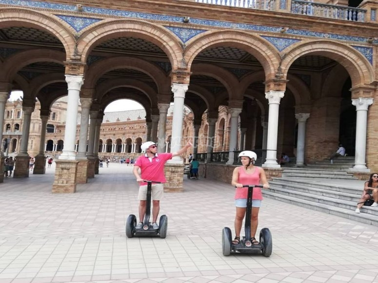 Get to know Seville by segway