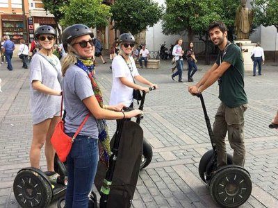 Tour Around Seville on Segway 2h