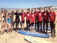 冲浪者团体海滩Conil