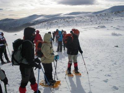 Raquetas de nieve con alojamiento Picos de Europa