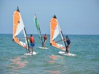 Windsurf di iniziazione