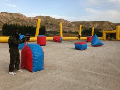 Paintball portátil Alquiler campo de juego