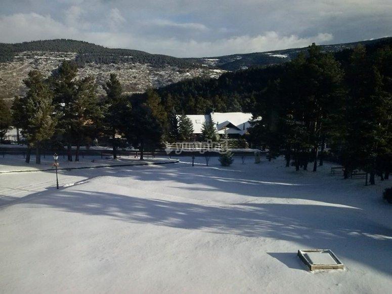 escola de esqui