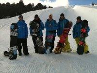 在La Molina学习滑雪板2h