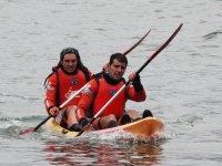 In canoa