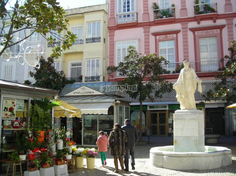 Plaza de las Flores Mercado