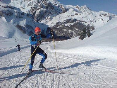 私人级越野滑雪3h内华达山脉