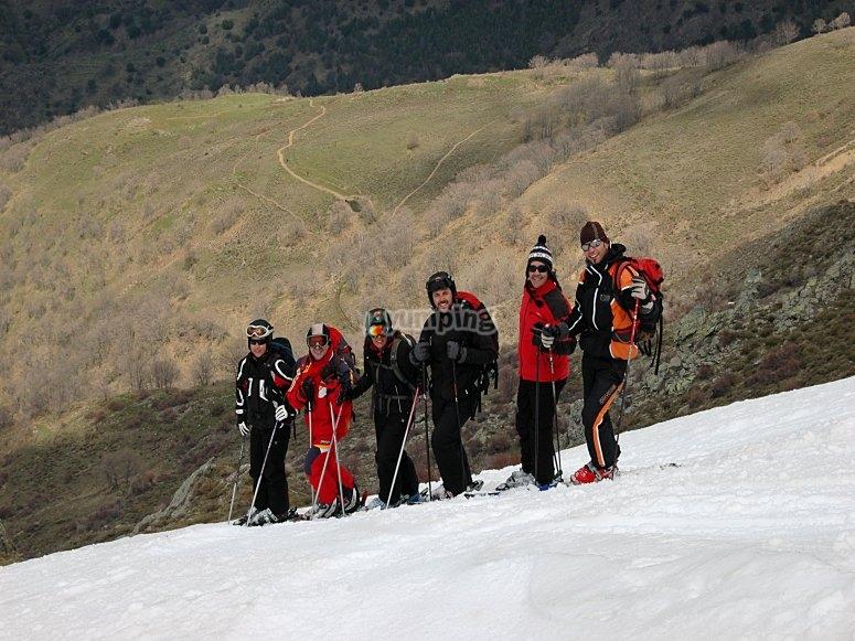 越野滑雪路线