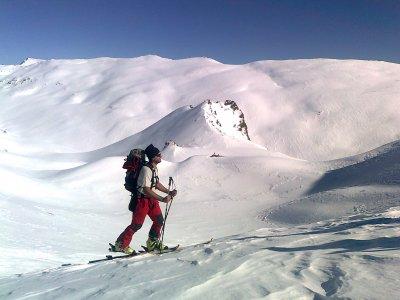 Sci di fondo e arrampicata su Veleta