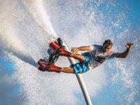 Flyboard estremo sulla Costa Brava
