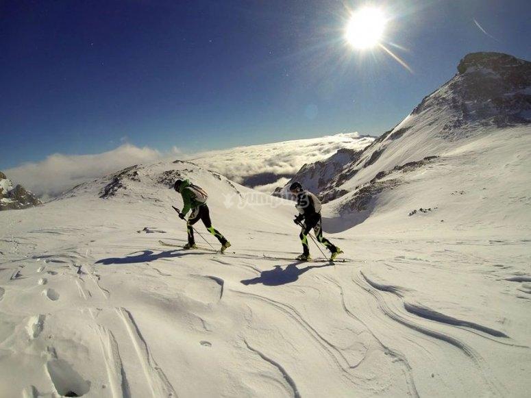 滑雪道Picos de Europa