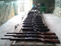 Armas inofensivas de airsoft 1